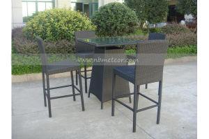 Mtc-156 Outdoor Garden Rattan Furniture Bar Set Wicker Bar Set pictures & photos