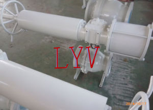 Cast Steel PCS Reducing Bore Floating Ball Valve pictures & photos