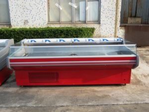 Commercial Island Freezer with Cover for Supermarket pictures & photos