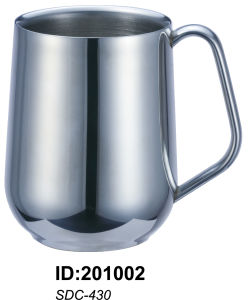 18/8 Stainless Steel Double Walled Mug pictures & photos