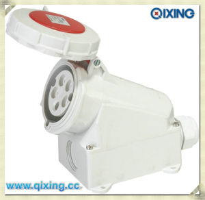 Cee/IEC Wall Mounted Industrial Socket (QX1210) pictures & photos
