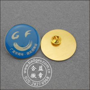 Offset Printing Badge with Chain Accessories (GZHY-KA-005) pictures & photos