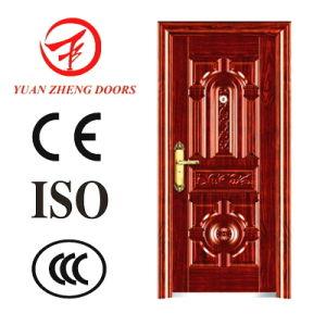Cheap Metal Security Door Steel Entry Door pictures & photos