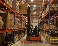 Powerful Capacity Heavy Duty Pallet Rack Use Forklift for Warehouse pictures & photos