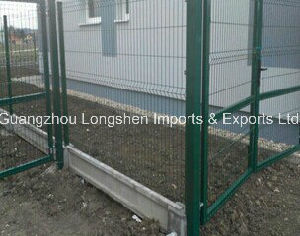 Hight Quality Welded Wire Mesh Fencing in Green Color