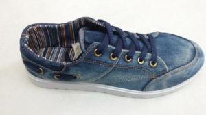 Factory Man′s Cowboy Low Canvas Shoes (WH1083)