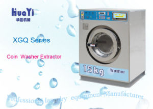Compact Stainless Steel Coin Washing Machine with Coin Slot pictures & photos