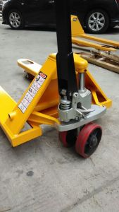 Manual Pallet Truck with Integrated Hydraulic Pump pictures & photos