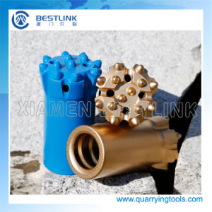 Thread Rock Button Drill Bits for Marble Quarry pictures & photos