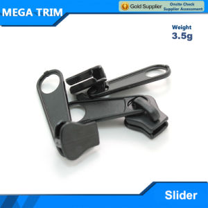 Black Plastic Zipper Slider for Clothes pictures & photos