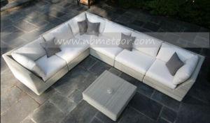 Mtc-161 Wicker Furniture Garden Rattan Sofa Set pictures & photos