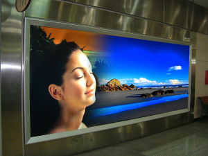 Waterproof Inkjet Media Outdoor Backlit Pet Film pictures & photos