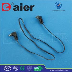 2.1mm/2.5mm 35cm Wire Length DC Jack pictures & photos