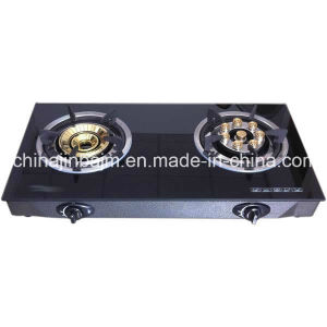 2 Burners Tempered Glass Top 8-Eye Energy Saving Cooktop/Gas Stove/Gas Cooker pictures & photos