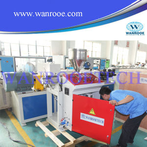 Front and Rear Co Extrusion Single Screw Extruder Machine pictures & photos