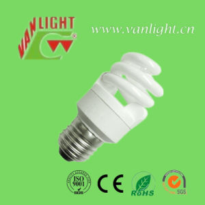 Half Spiral Series CFL Energy Saving Lamp Bulb (VLC-FST3-11W) pictures & photos