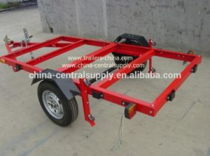 Manufacturer Hot Sale Galvanized 4′ X 8′ Foldable Trailer (CT0020A) pictures & photos