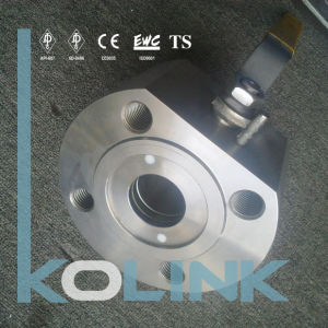 Wafer Ball Valve Thin Type Ball Valve Forged Steel