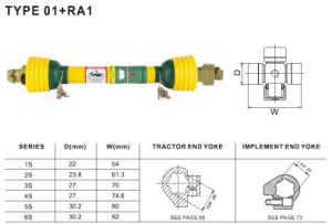 Pto Shaft 01+Ra1 for Agriculture Machinery pictures & photos