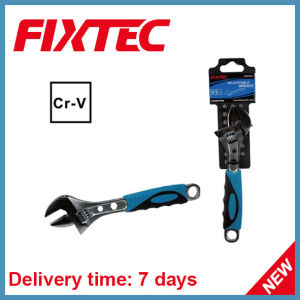 Fixtec Hand Tool 6′′ CRV Material Adjustable Wrench pictures & photos