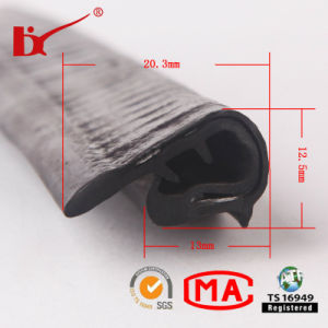 U Channel PVC Sealing Strips with Customized Sizes pictures & photos