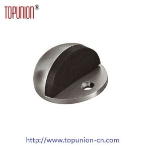 Floor Mounted Door Stopper with Rubber (DS003) pictures & photos