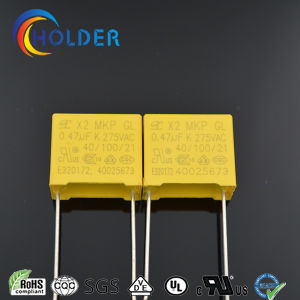 Metallized Polypropylene Film Capacitor (X2 0.47UF/275V D5) pictures & photos