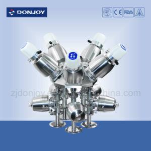 Ss Pneumatic Direct-Way Diaphragm Valve PTFE Gasket pictures & photos