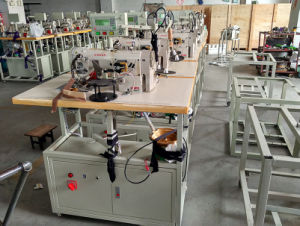 High Speed Automatic Hook and Eye Tape Sewing Machine pictures & photos