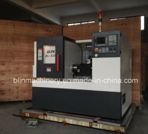 High Precision Mini Slant Bed Horizontal Metal Machining Small CNC Turning Lathe Machine pictures & photos