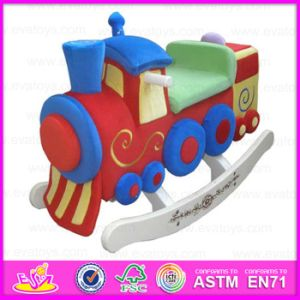 2015 Best Sale Colorful Wooden Rocking Car Toy, Top Quality Kids Wood Ride on Car Toy, Children Wooden Rocking Ride Toys Wj277563 pictures & photos