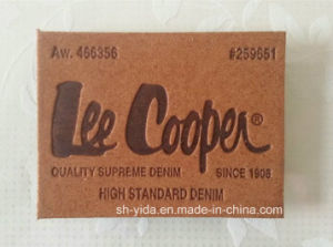 Microfiber Leather Label for Garment (YDL-15054)