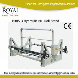 Electrical Roll Stand with Shaft for Paper Roll Machine pictures & photos