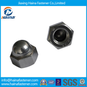 Ss DIN1587 Cap Nuts, Hex Drive Dome Head Cap Nut pictures & photos