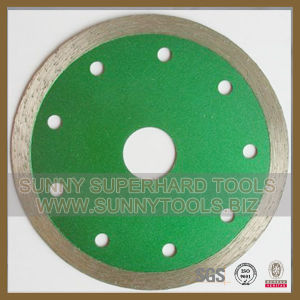 Continuous Rim Diamond Blade for Ceramic Tile Porcelain pictures & photos