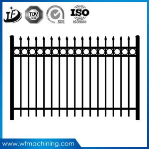 OEM Casting Iron Fence for Moden Housing Fashion Decoration pictures & photos
