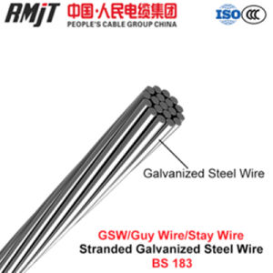Galvanized Steel Wire Strand with BS 183: 1972 pictures & photos