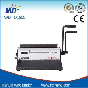 Manual Wire Binding Machine Wd-Td1500 pictures & photos