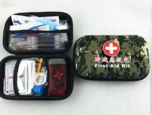 The New EVA Camouflage Outdoor First Aid Kit pictures & photos