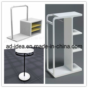 Innovative Wood and Metal Garment Display Stand (GARMENT-1117) pictures & photos