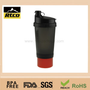 Plastic Gym Power Shaker Bottle Cup (SHK-006)