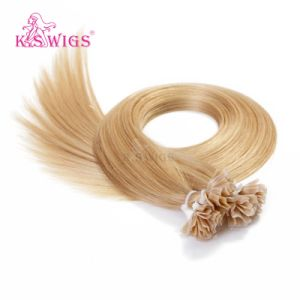 Pre-Bonded Keratin Hair Extension V Tip Human Hair pictures & photos