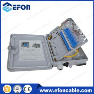 Gpon ONU 2 Port FTTH Terminal Boxes with Cable Gland (FDB-012A) pictures & photos