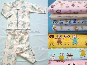 Cotton Flannel Fabric for Babywear, Various Kinds of Designs pictures & photos