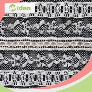 Nylon Material French Net Lace Fabric in Dubai pictures & photos