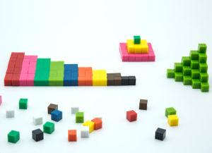 Plastic Mathematics Manipulatives Geometry Pattern Blocks pictures & photos