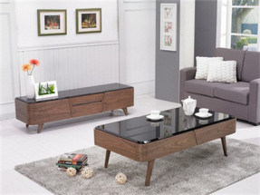 Nice Looking Living Room Set of TV Stand and Tea Table (852-3/4) pictures & photos