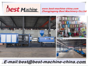 High Quality Plastic Trash Can Injection Making Machine pictures & photos