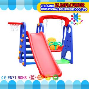 Indoor Playground Multifunctional Combined Slide Children Toys Kindergarten Soft Plastic Slide Playground (XYH12066-4) pictures & photos