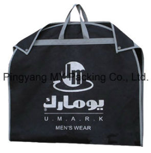 Custom PP Ziplock Garment Bags Suit Cover for Advertising pictures & photos